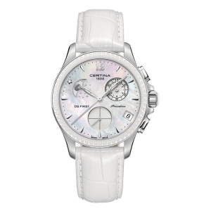 Zegarek Certina DS First Lady Ceramic Chrono Moon Phase C0302501610600 (darmowa dostawa)