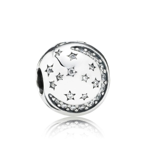 Klips Pandora Twinkling Night 791386CZ
